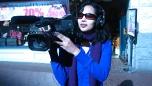 Faiza Zia Khan, reporter, co-producer